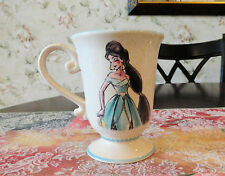 DISNEY DESIGNER PRINCESS COLLECTION JASMINE Coffee Mug ALADDIN New
