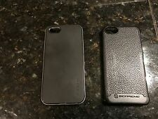 BUNDLE iPhone 5s Scosche  Leather and Spigen Neo Hybrid Cases & New earbuds