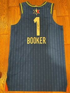 Devin Booker 2020 All Star Team Lebron Autographed Jersey ISSUED NBA Auctions