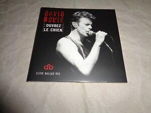 DAVID BOWIE OUVREZ LE CHIEN DALLAS '95 BRILLIANT LIVE ADVENTURES cd NEW SEALED