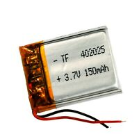 3.7V 402025 Li-Polymer Lithium Replacement Battery for GPS/MP3/MP4/Car Cam DVR
