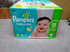 Pampers Baby Dry Diapers Size 2 186 Ct