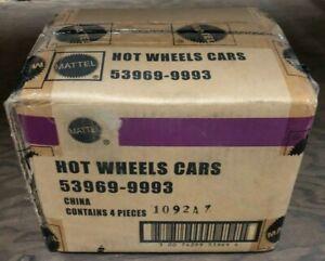 Factory Case Of 4 2002 Hot Wheels LE Vintage Pony Wars Road Racing Car Set 53969