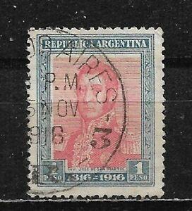 ARGENTINA, USED SCOTT # 227