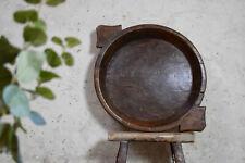 Beautiful Vintage Large Wooden Fruit Bowl