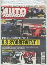 AUTO HEBDO n°2052 NEUF du 02/03/2016 : F1 Barcelone - Loeb Solberg Rallycross RX