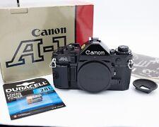 Canon A-1 Body 1980 Boxed Superb