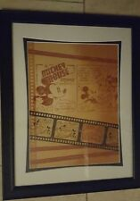 DISNEY MICKEY MOUSE MATTED COSTA 14 X 18 PICTURE