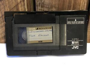 JVC C-P7U VHS-C to VHS Cassette Adapter Converter