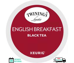 Twinings English Breakfast Keurig Tea K-cups YOU PICK THE SIZE