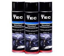 Unterbodenschutz Spray Steinschlagschutz 3x500ml schwarz überlackierbar E0188