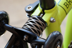 Carbon Steel Suspension Spring full set for BROMPTON incl disc and bolt