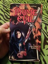 Prime Evil VHS Rare New World Video Rated R William Beckwith Christine Moore1988