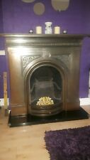 Victorian cast iron fireplace. Surround only no fire included