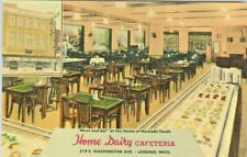 Lansing MI The Home Dairy Cafeteria on 319 S. Washington Avenue
