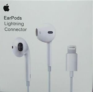 APPLE EARPODS LIGHTNING CONNECTOR FOR APPLE iPhone 12, 12 Pro, 12 Pro Max