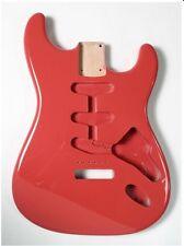 Goeldo BSA1F Body für Stratocaster, SSS, US-Alder, Fiesta Red