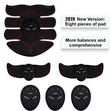 Stimulator Training Smart Abs Fitness Gear Muscle Abdominal Toning Belt Trainer~