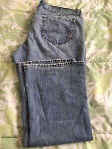 Women Flare Leg Flirt Jeans Size 16 Short