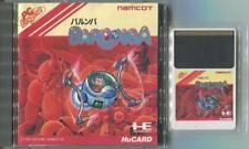 "PC-Engine Hu CARD PCE "" BARUNBA "" NAMCOT NAMCO JAPAN JAPANESE GAME"