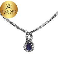 SAPPHIRE BLUE PEAR SHAPE 8.80X 4.80X 3.11MM DIAMOND ROUND