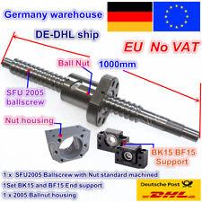 2stk HGR20-700mm Linearführung BF12//BK12 Kit RM1605-700mm Kugelgewindetrieb