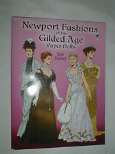 Newport Fashions Of The Guilded Age Paper Dolls Book 2005 Dover Tom Tierney