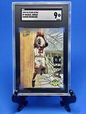 1993-94 Fleer Ultra 7 Michael Jordan Famous Nicknames SGC 9 Mint