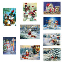 BH_ JN_ Christmas Snowman Partial Diamond Painting Cross Stitch Embroidery Wall