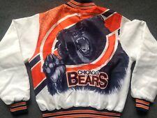 Vtg Chicago Bears FANIMATION jacket Chalk Line 90s 80s jersey starter hat sz S