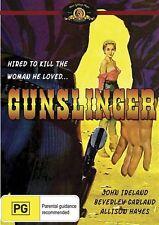 Gunslinger (DVD, 2009) region free, ex rental