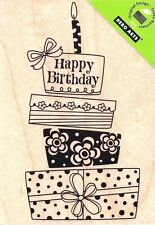 Birthday Gift K5315 HERO ARTS RUBBER STAMPS w/m  Free Shipping  New