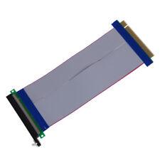 New PCI-Express PCI-E 16X Riser Card Ribbon Extender Extension 20cm Cable E3M9