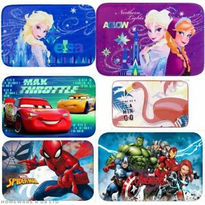 KIDS CHILDRENS BEDROOM ACCESSORIES RUGS MATS  SIZE 40X60CM CHOICE OF DESIGNS