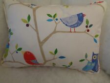 "WHAT A HOOT BY HARLEQUIN OBLONG CUSHION  20"" X 14 ""(51 CM X 36 CM)"