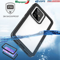 For Samsung Galaxy S20 S20+ Note 20 Ultra Clear Waterproof Shockproof Case Cover