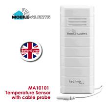 Technoline mobile gli avvisi ma10101 Sensore di Temperatura con Sonda Cavo