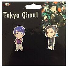 **License** Tokyo Ghoul Metal Pin Set SD Tsukiyama Shuu & Uta #50592