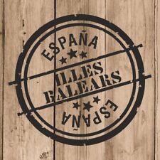 Vinilo de Corte Illes Balears Pegatina Illes Balears España 10 cm Adhesivo Pared