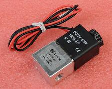"""DC12V 1/8"""" Magnetventil Electric Air Gas Wasser Solenoid Valve Magnet ventil N/C"""
