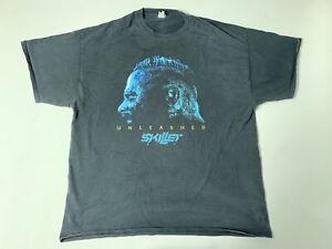 Vintage Skillet Unleashed Rock T-Shirt 2XL Christian Metal Alternative