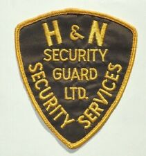 RARE Security Services Patch - H & N Security Guard Ltd.