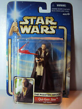 Star Wars The Phantom Menace Qui-Gon Jinn Jedi Master Hasbro Neu + OVP