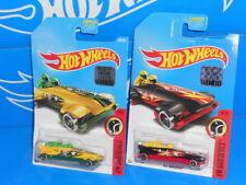 Hot Wheels Lot of 2 Factory Set 2017 Ice Shredder Yellow & Black