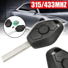 EWS 3 Button Remote Key 315/433MHz ID44 Chips For BMW 3 5 7 SERIES E38 E39 E46