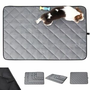 Waterproof Dog Cage Mat Chew Resistant Heavy Duty Mattress Outdoor Crate Bed Pad