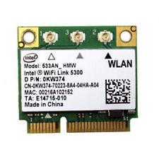 Original Dell Latitude E6400 Intel Wifi Wireless Card 0KW374 533AN_HMW TESTED