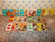 COLLANA MINI STRISCIA SERIE COMPLETA 1/7 EDITAL 1970 MB/OTTIMA ORIGINALE + SFUSI