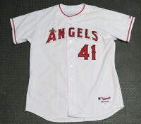 2004 John Lackey Los Angeles Angels Game Used Worn MLB Baseball Jersey! Signed!