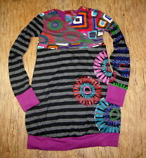 Brand New Desigual kids collection motif elegant Warm with lining 7/8 Years